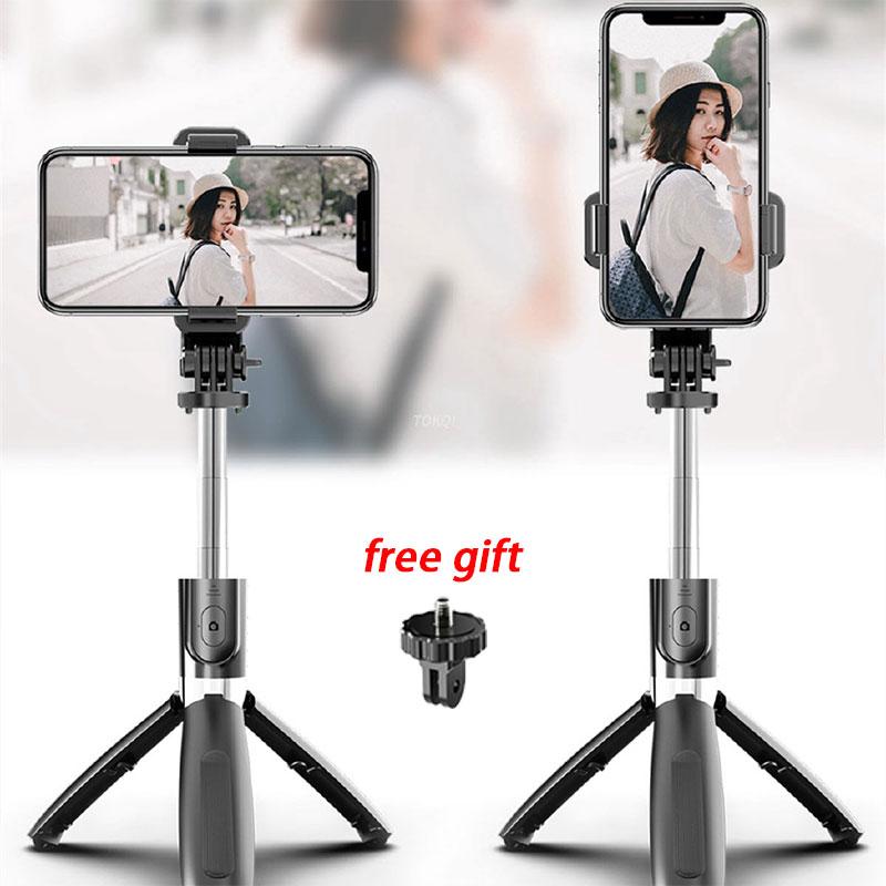 Gậy Selfie, Chuyên Nghiệp L02 Di Động Điều Khiển Từ Xa Bluetooth Không Dây Mở Rộng Linh Hoạt Mini Chống Rung, Có Chân Máy